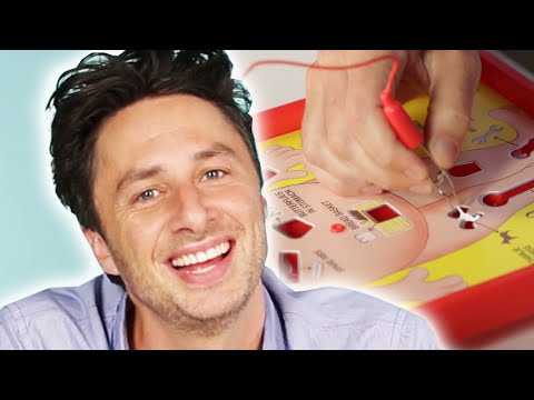 Zach Braff Plays Operation