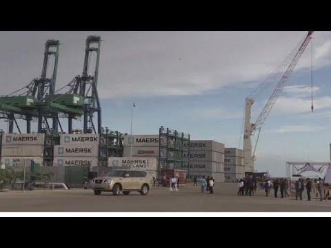 Gabon unveils $ 300 million port harbour