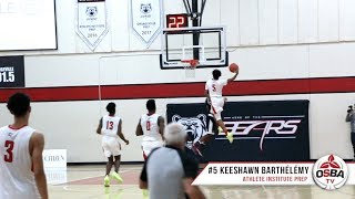 DUNK OF THE YEAR?! 6-3 G Keeshawn Barthélémy punishes the rim!
