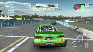Nascar 2013 The Game - Gameplay Full Race In Formula Track (HUN) (HD)