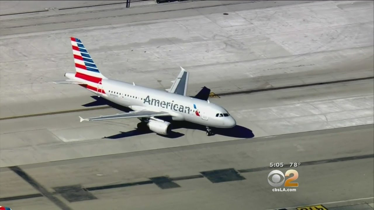 American Airlines Flight Makes Emergency Landing At Lax
