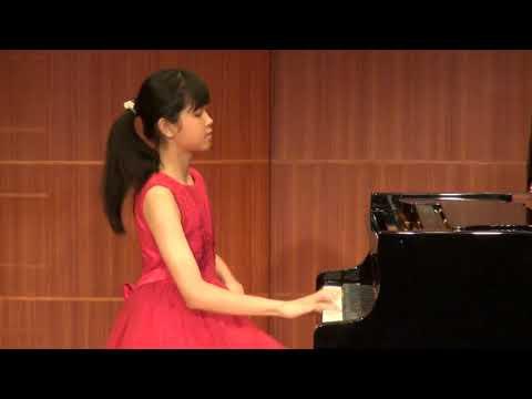 [2019藝享盃音樂大賽]鋼琴 P07國中組 第一名 李婕寧 - YouTube