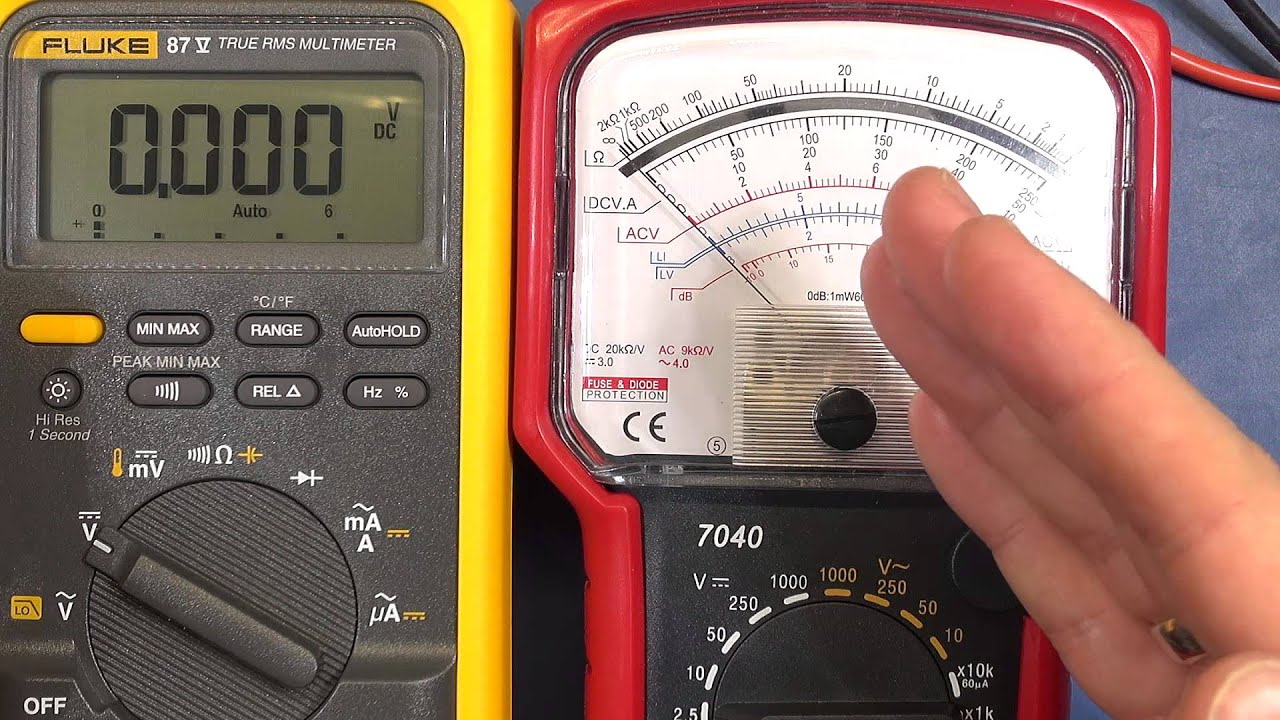 QTV #6 - Analog vs Digital Multimeters