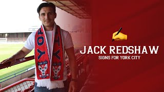 ✍️ Jack Redshaw signs for York City