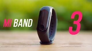 Обзор Xiaomi Mi Band 3. Бесполезный девайс. [4k]