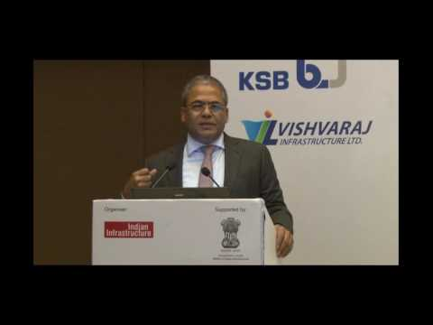 Mr. Arun Lakhani at the 4th Annual Conference on Sewage And Wastewater Treatment