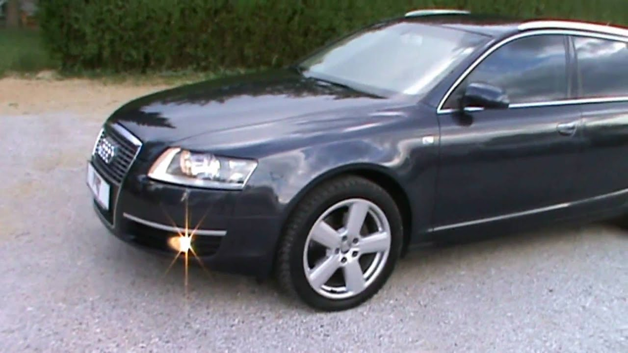 2005 Audi A6 2 0 Tdi Avant Full Review Start Up Engine