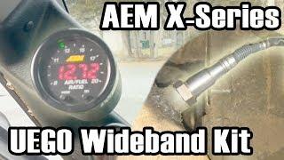 AEM X-Series Wideband UEGO Kit install