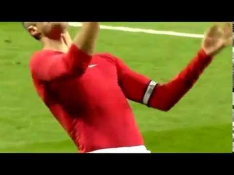 Manchester United vs Chelsea 1 1 Robin van Persie Goal Branislav Ivanovic Red Card 26 10 2014
