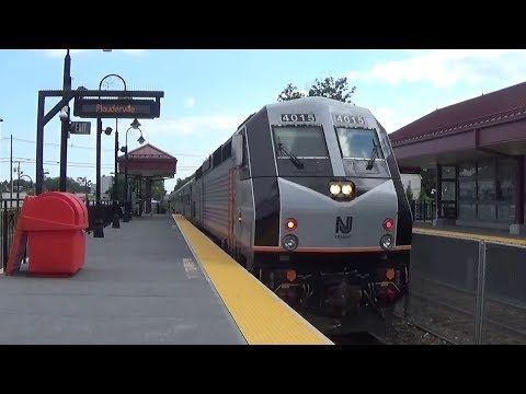 Plauderville Train Station In Garfield Nj Youtube