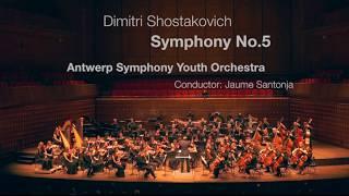 Shostakovich 5 / Antwerp Symphony Youth Orchestra