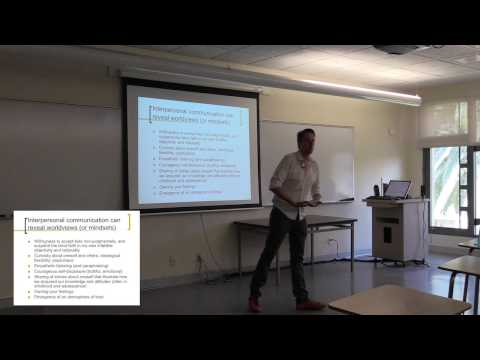 Lecture 25 Interpersonal Communication