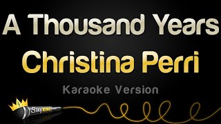 Gambar cover Christina Perri - A Thousand Years (Karaoke Version)