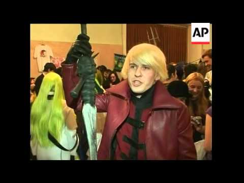 Anime convention in St Petersburg