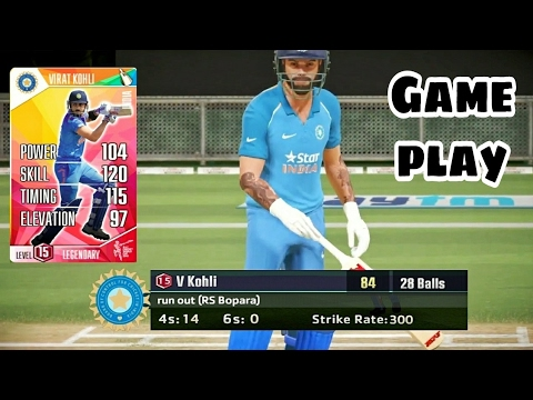 ICC Pro Cricket 2015 · India vs England · Gameplay 1 · 10 Over Game
