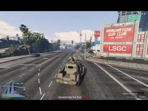 GTA-V VIP CEO Headhunt