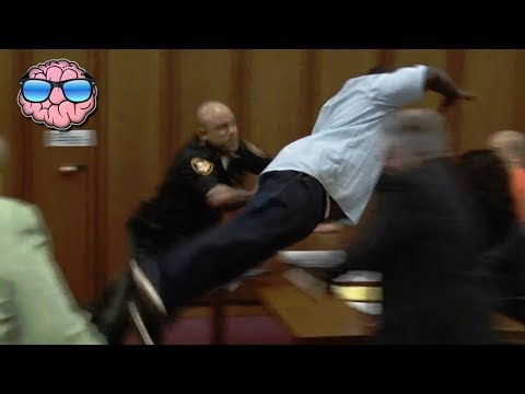 10 MOST SHOCKING Court Moments CAUGHT ON TAPE