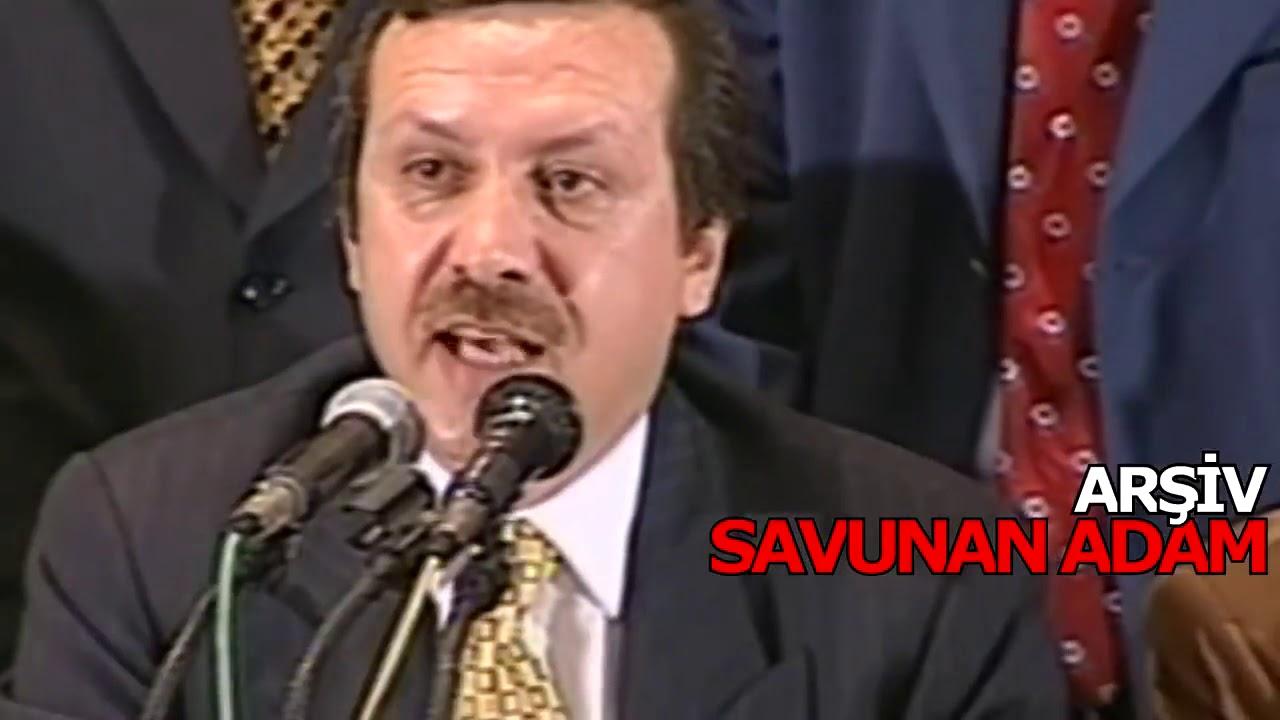 Recep Tayyip Erdoğan'ın Geçmişte Yaptığı Konuşmalardan Kesitler