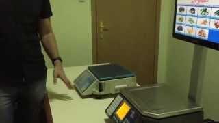 видео Счетные весы CAS TC (5, 10, 20)