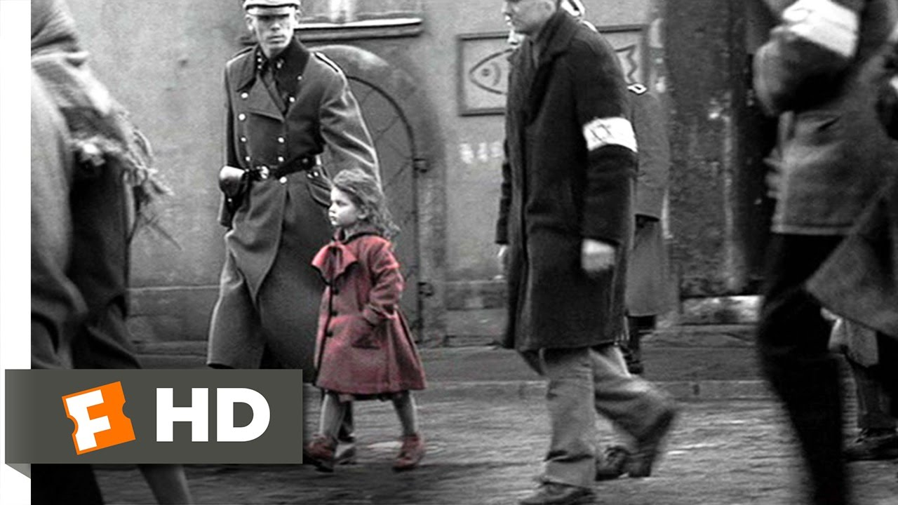 the girl in red schindlers list 39 movie clip 1993
