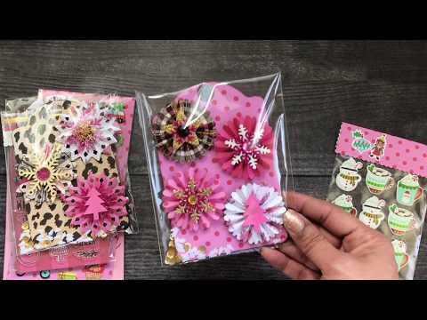Carol Hurlock Christmas In Pink 2020 Christmas Projects Share~Packaging Ideas!   YouTube