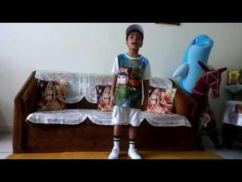 First prize winning English recitation