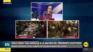 Huelga magisterial: Pedro Castillo le responde a PPK luego de Mensaje a la Nación