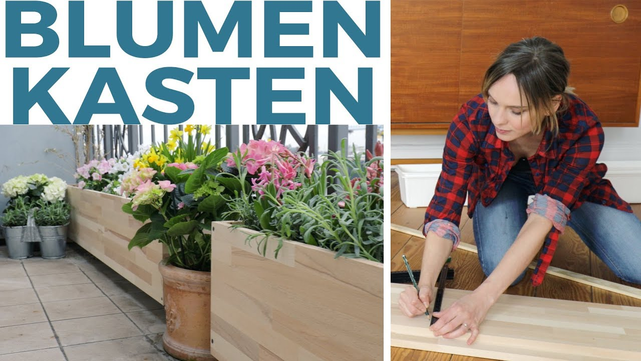 blumenk sten als balkon sichtschutz diy youtube. Black Bedroom Furniture Sets. Home Design Ideas