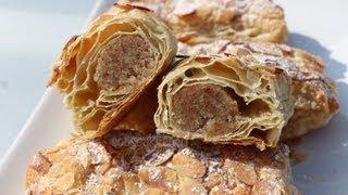 Recette de Petits feuilletés aux amandes/Almond Bear Claws