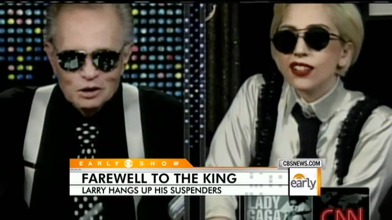 Farewell to the King - Larry King's Last Show - YouTube