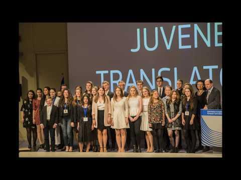 Αγγελική Χριστοδουλάκη, η βράβευση της Ελληνίδας νικήτριας στο juvenes translatores