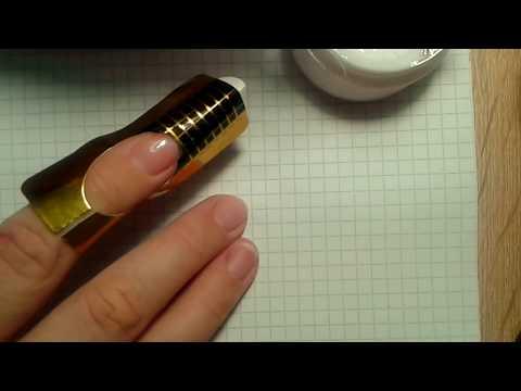 Нарощення нігтів гелем собі просто і легко!  Acne Nail Gel Is Simple And Easy!
