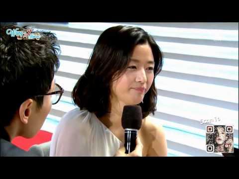 [Engsub] Jun Ji Hyun [SBS Drama Awards  2014] - Interview (Aegyo moment)