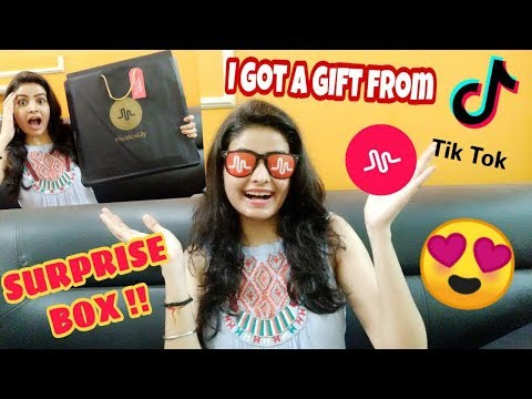 I Got A Surprise GIFT from TikTok formerly called MUSICAL.LY | What is in the Box ?😍