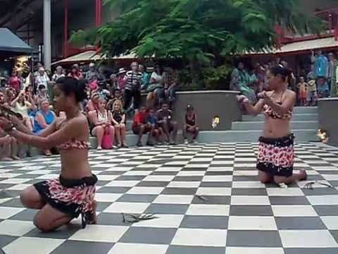 FIRE DANCERS of Exotic Fiji