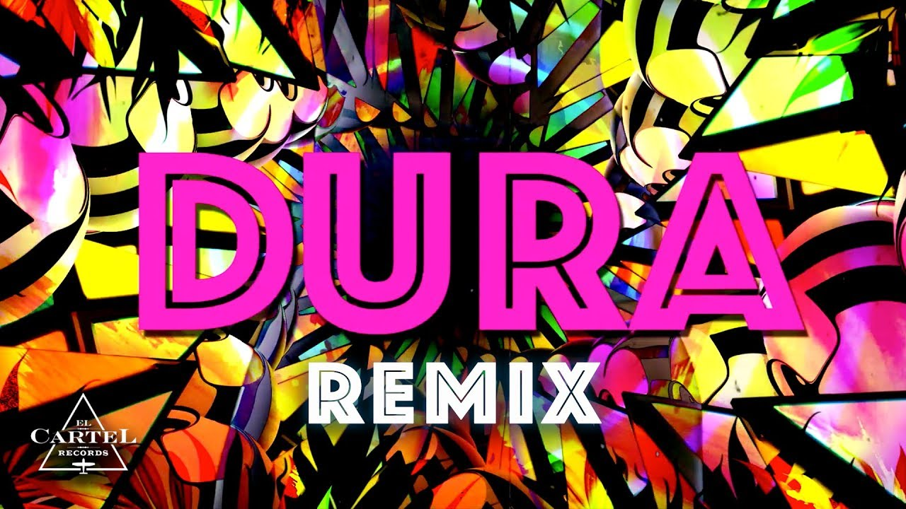 Daddy Yankee | Dura (REMIX) ft. Bad Bunny, Natti Natasha & Becky G (Lyric Video) #1