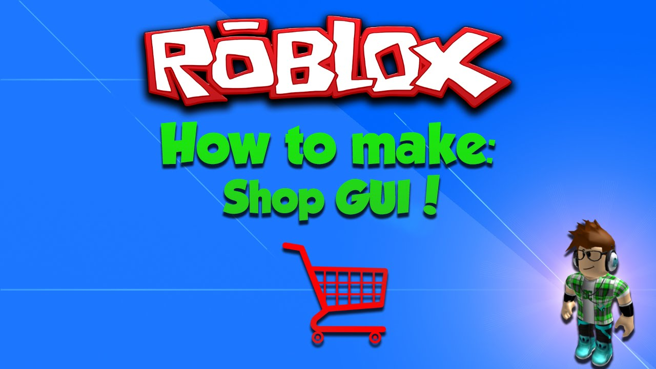 Roblox How To Make A Shop Gui Youtube
