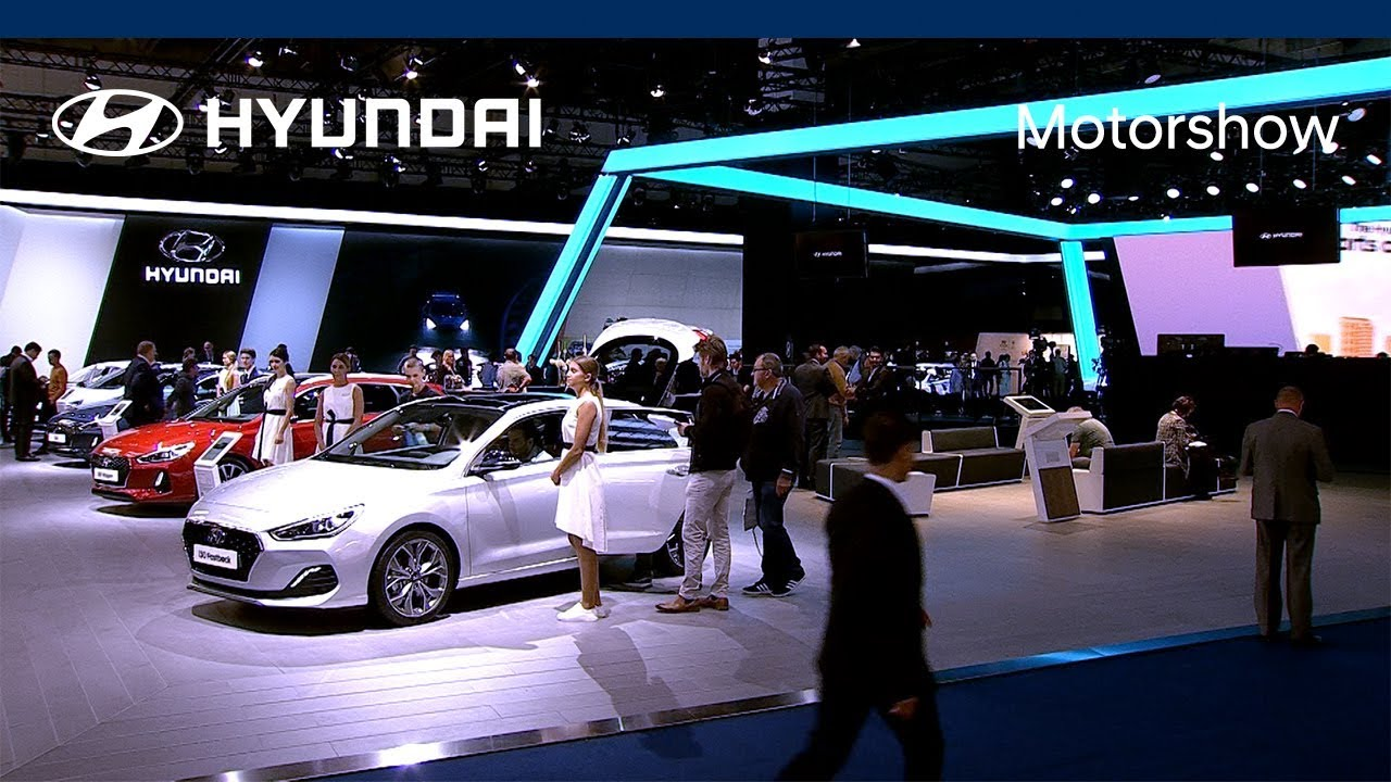 Hyundai motor at 2017 frankfurt motorshow best of youtube for Hyundai motor finance payoff