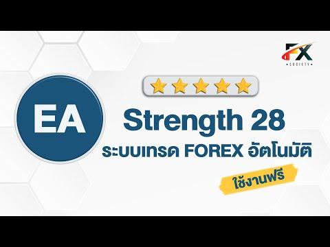 EA Forex 2020 ระบบเทรดอัตโนมัติ ที่ไม่ใช่ Martingale | #EAStrength28
