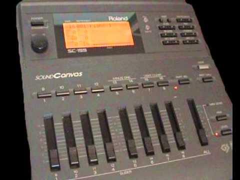 Roland soundcanvas sc-155 demo