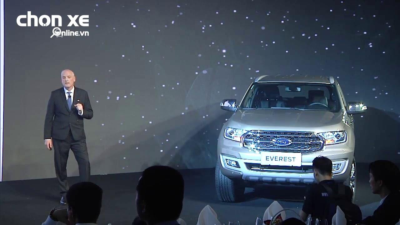 Những công nghệ hiện đại trên Ford Everest mới