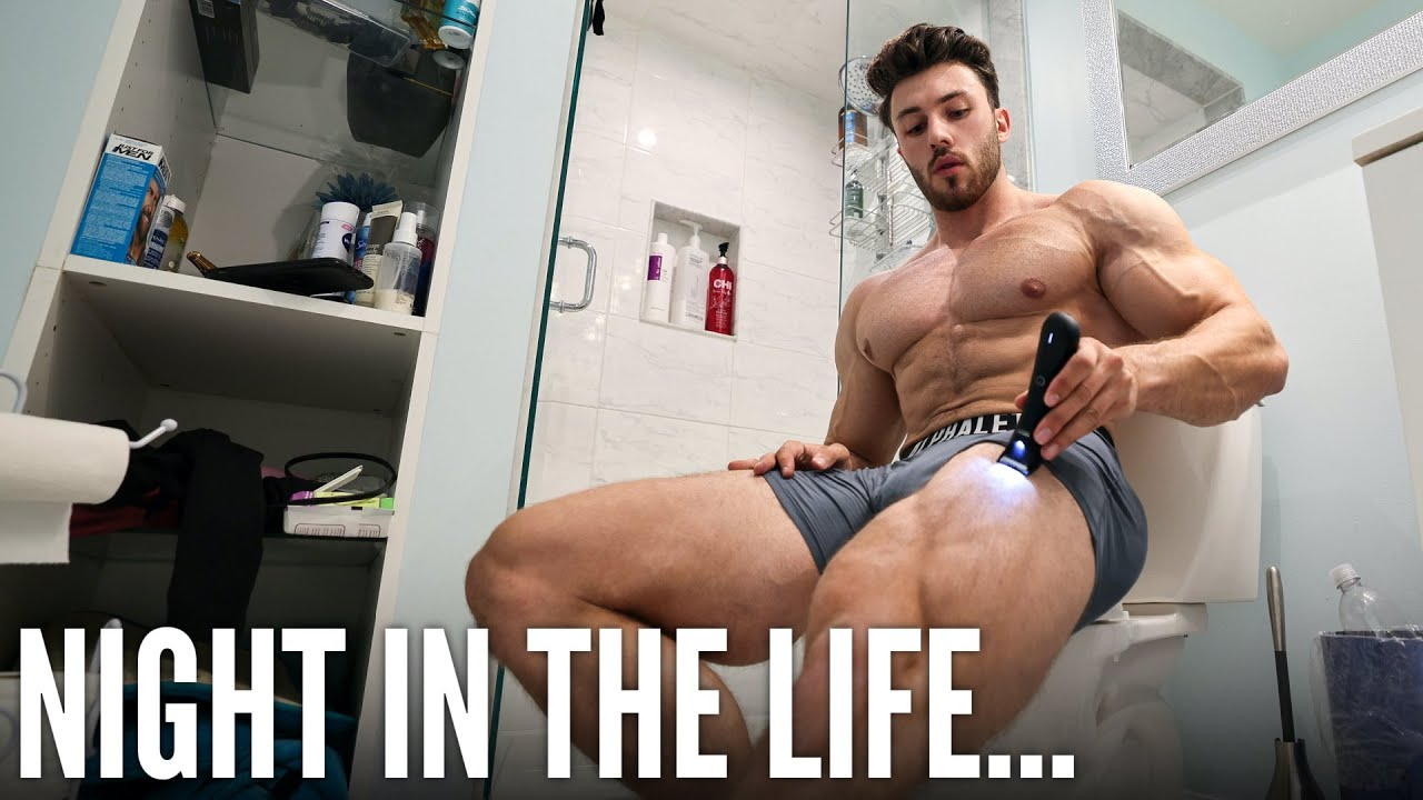 NIGHT IN THE LIFE OF AN AMATEUR BODYBUILDER...