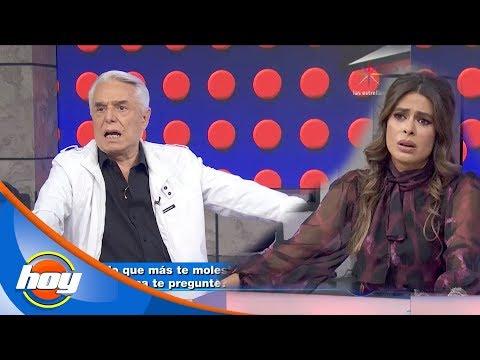 ¡Galilea Montijo y Enrique Guzmán se sinceran en 'El Manotazo'!   Hoy
