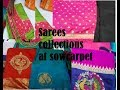 Wholesale and Retail Price Sarees collection at Sowcarpet//where to buy sarees at affordable price
