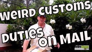 Weird Thailand Mail Customs Duties