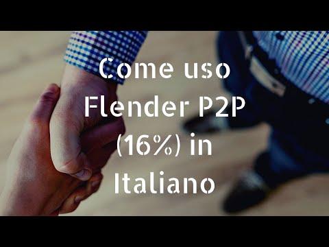 Flender P2P come usare auto-invest italiano 🇮🇹 (max 16%)