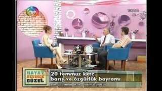 KORSAVAŞ TÜRKİYE GAZİLER DERNEĞİ İZMİR TEMSİLCİSİ ORKAN ÖZBEK EGE TV.DE KIBRIS GAZİLERİNİ ANLATTI