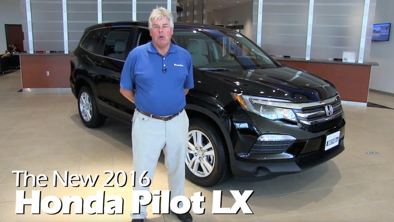 Honda Pilot For Sale Mn >> New 2016 Honda Pilot LX Minneapolis | St Paul | White B... | Doovi