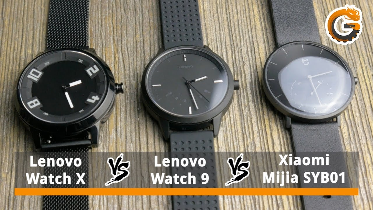 Xiaomi Mijia Syb01 Vs Lenovo Watch 9 Vs Lenovo Watch X