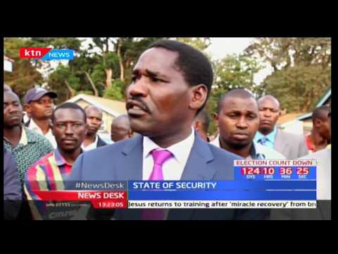 Meru Governor Peter Munya challenges the government to do much more in addressing insecurity